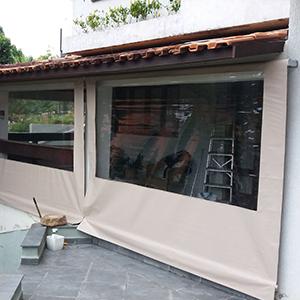Fabricante de toldo cortina